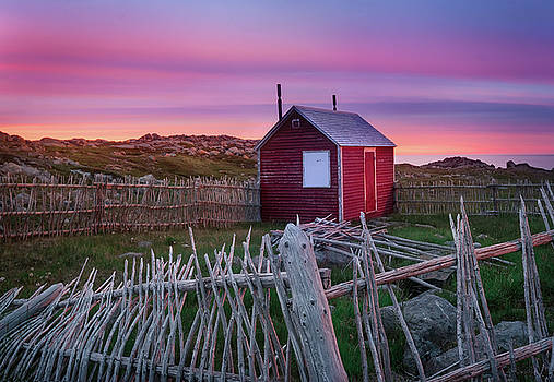 Cape Bonavista Sunset by Tracy Munson
