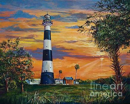Cape Canaveral Light by AnnaJo Vahle