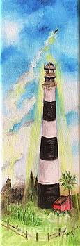 Cape Canaveral Lighthouse by Jacalyn Hassler Yurchuck