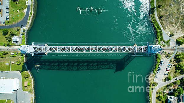 Cape Cod Canal Railroad Bridge by Michael Hughes
