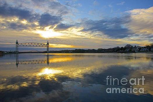 Cape Cod Canal Sunrise by Amazing Jules