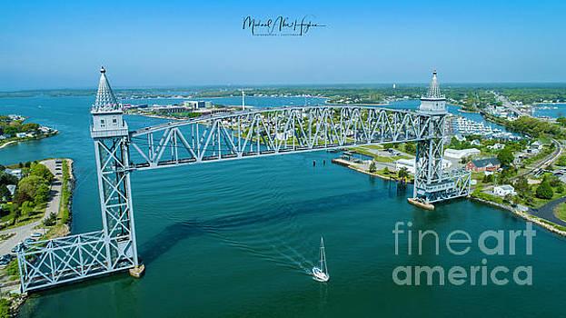 Cape Cod Canal Suspension Bridge by Michael Hughes