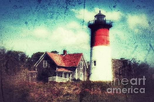 Cape Cod lighthouse by Hilary England