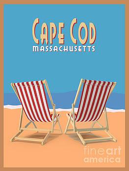 Cape Cod Massachusetts by Edward Fielding
