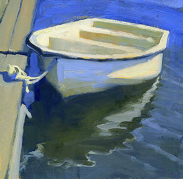 Cape Cod skiff by Kathleen Weber