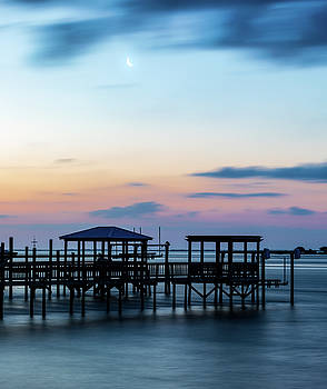 Cape Fear Moon Rise by Nick Noble
