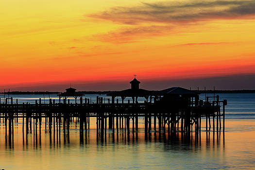 Cape Fear Sunrise in Southport by Nick Noble