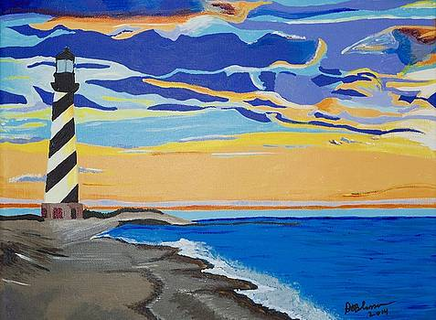 Cape Hatteras by Donna Blossom