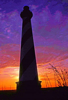 Cape Hatteras lighthouse by Bill Jonscher