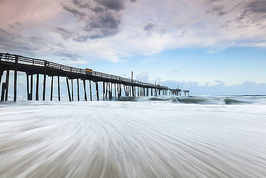 Cape Hatteras Outer Banks Frisco North Carolina Fishing Pier by Mark VanDyke