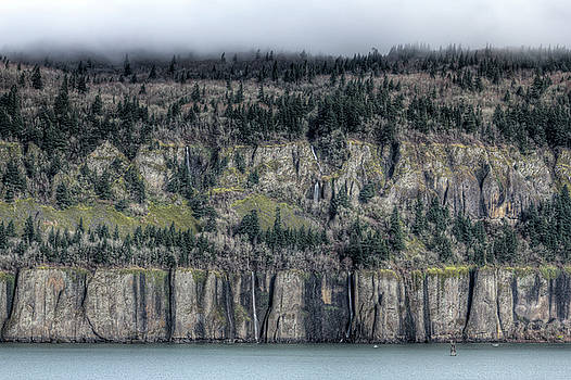 Cape Horn Cliffs Columbia River Gorge Washington by Dustin K Ryan