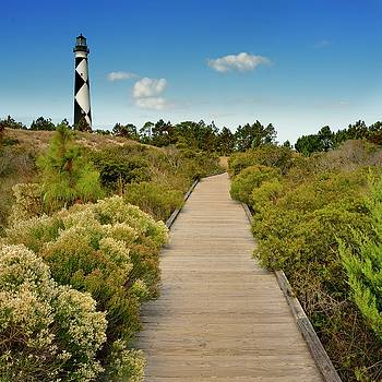 Cape Lookout Lighthouse by Jeff Burcher