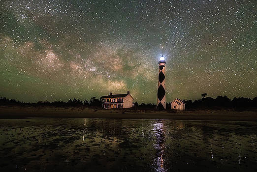 Cape Lookout Lighthouse by Russell Pugh