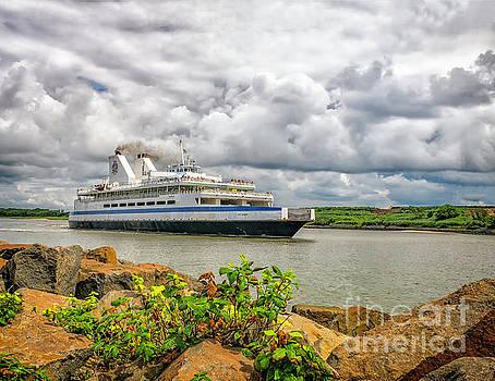 Cape May Ferry by Nick Zelinsky