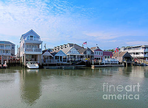 Cape May Harbor New Jersey by Louise Heusinkveld