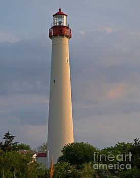 Cape May Lighthouse by Robert Pilkington