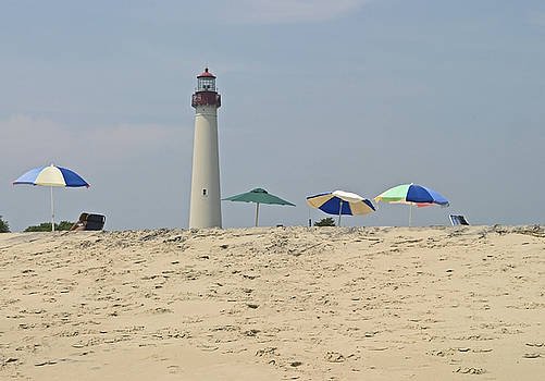 Cape May Lighthouse View by Andrew Kazmierski
