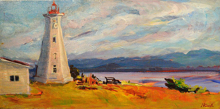 Cape Mudge Lighthouse by Nanci Cook
