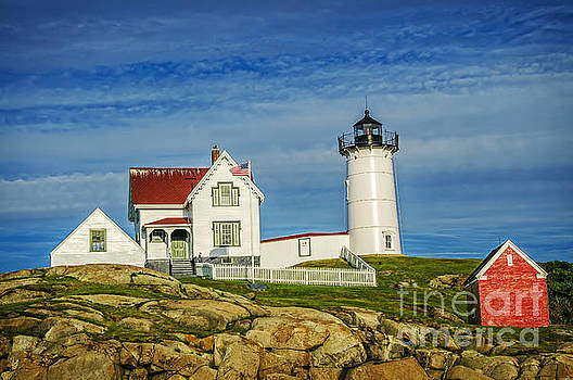 Cape Neddick Lighthouse by Charles Dobbs