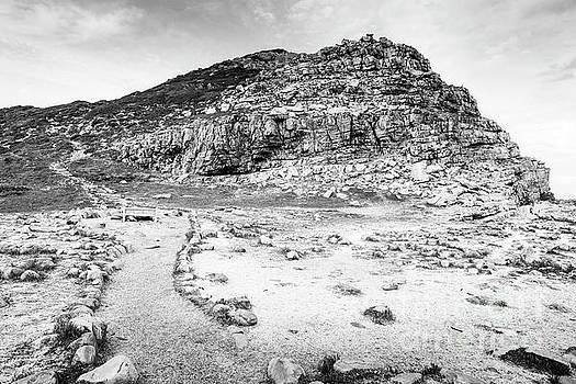 Tim Hester - Cape of Good Hope Landscape Black and White