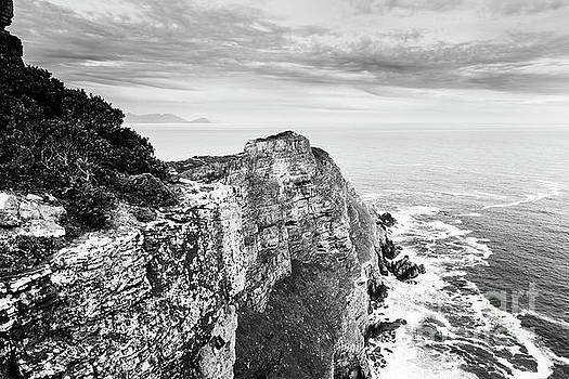 Tim Hester - Cape Of Good Hope South Africa Black and White