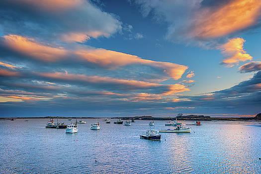 Cape Porpoise Harbor at Sunset by Rick Berk