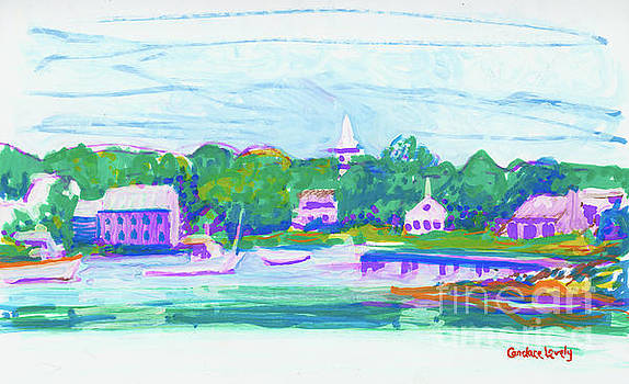 Cape Porpoise Harbor by Candace Lovely