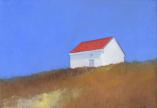 Cape Schoolhouse by Linda Puiatti