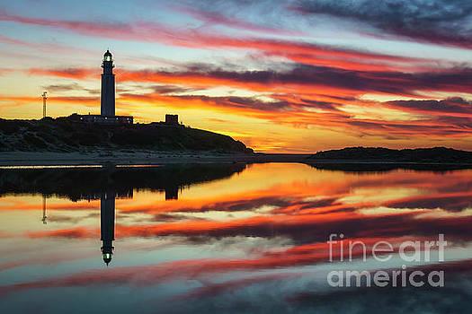 Cape Trafalgar Lighthouse Cadiz Spain by Pablo Avanzini