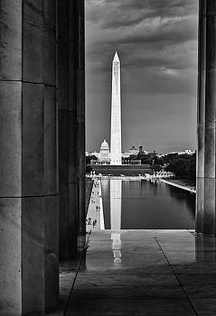Capita and Washington Monument by Paul Seymour