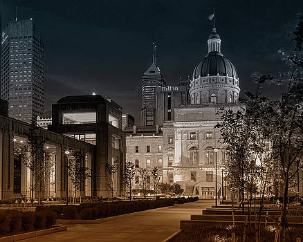 Capital at Night by Timothy Bonesho
