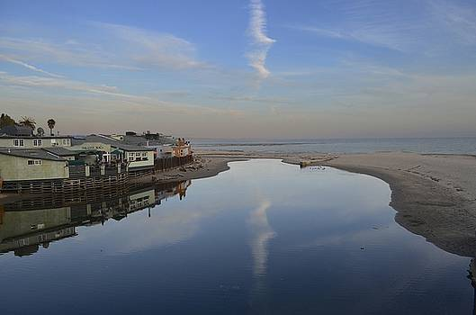 Capitola at Sunset by Alex King