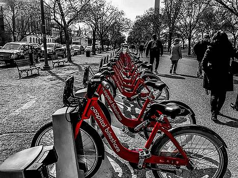 Capital Bikeshare by Chris Montcalmo