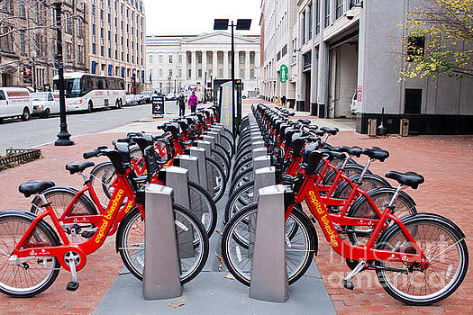 Capital Bikeshare by Thomas Marchessault