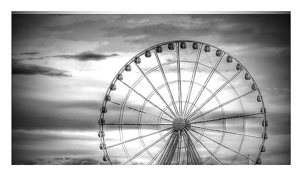Capital Wheel by Emmanuel Rivera