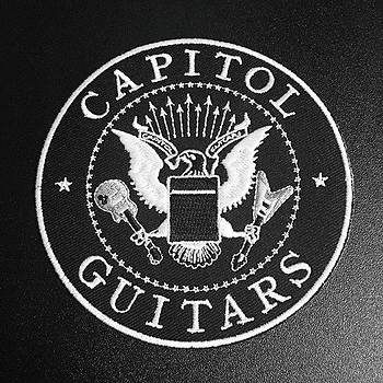 #capitalguitars #tv_typography by Heidi Lyons