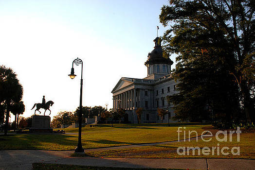 Susanne Van Hulst - Capitol Building in Columbia South Carolina - 2