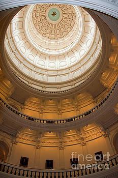 Herronstock Prints - Capitol Dome Interior in the Texas