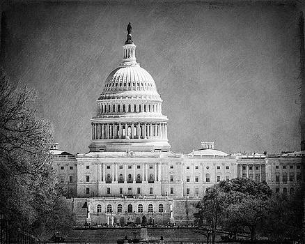 Capitol in Black and White by Emily Kay