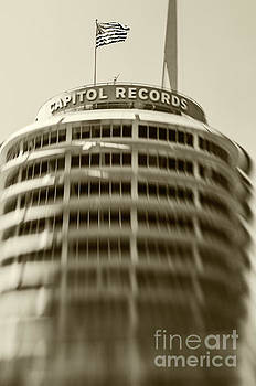 Capitol Records building 15 by Micah May