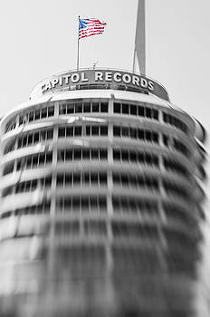 Capitol Records building 18 by Micah May