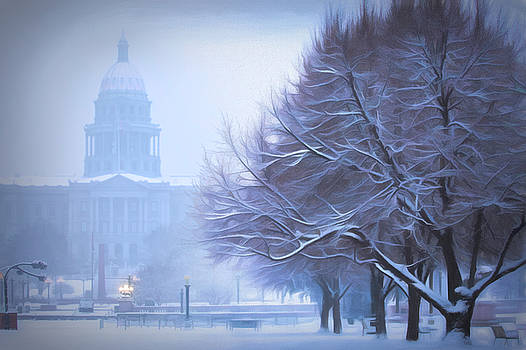 Capitol Snow by Kristal Kraft