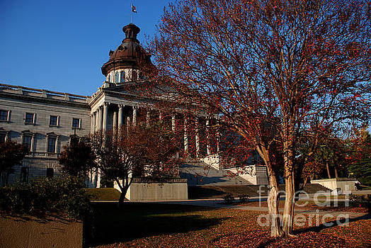 Susanne Van Hulst - Capitol State Building in Columbia South Carolina