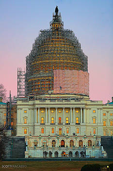 Capitol Under Wraps by Scott Fracasso