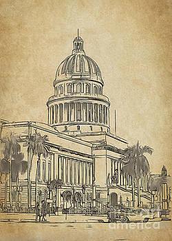 Capitolio Havana by Sergey Korotkov