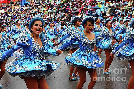 James Brunker - Caporales Dancers at Oruro Carnival Bolivia