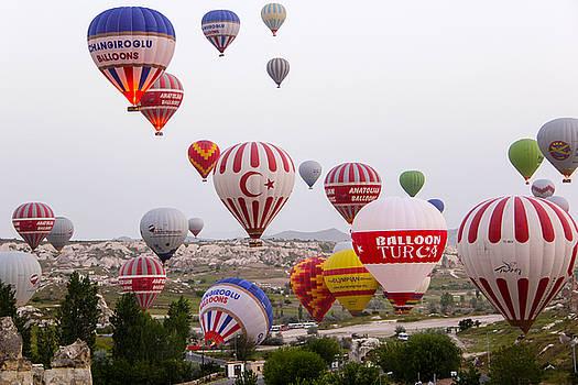 Cappadocia Balloons by Freepassenger By Ozzy CG