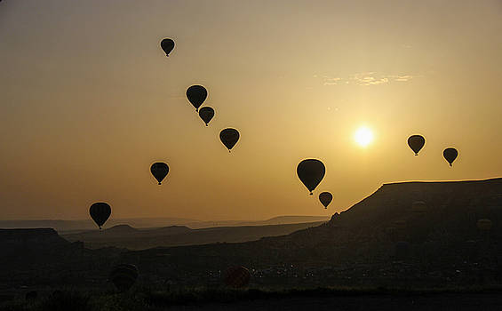 Cappadocia Sunrise by Freepassenger By Ozzy CG
