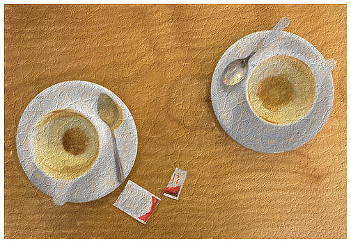 Cappuccino for Two by Eric  Bjerke Sr
