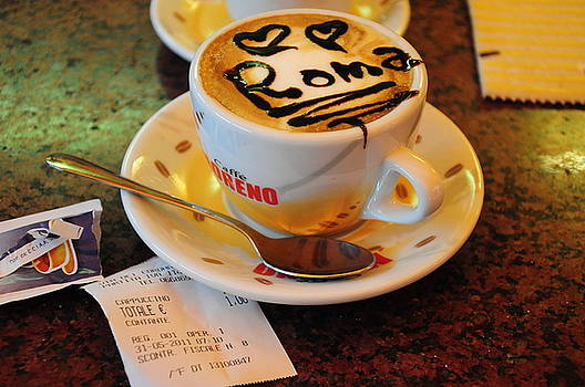 Cappuccino in Rome by Srikanth Srinivasan